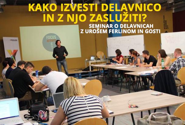 Seminar o delavnici.